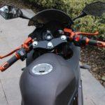 Электромотоцикл 2000w черного цвета