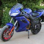 Электромотоцикл 2000w синего цвета, Електромотоцикли в Україні