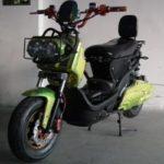 Скутер электрический для бездорожья ElWinn Zuma.