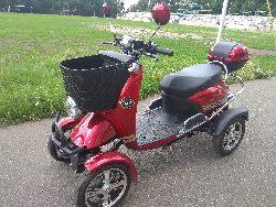 Четырехколесный скутер купить в Украине. Квадроцикл скутер Elwinn ES-135