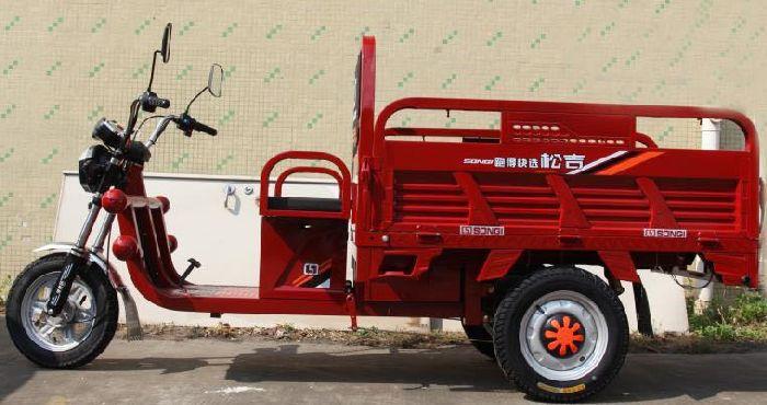 Трицикл вантажний купити в Україні Elwinn ETC3 з відкидними бортами