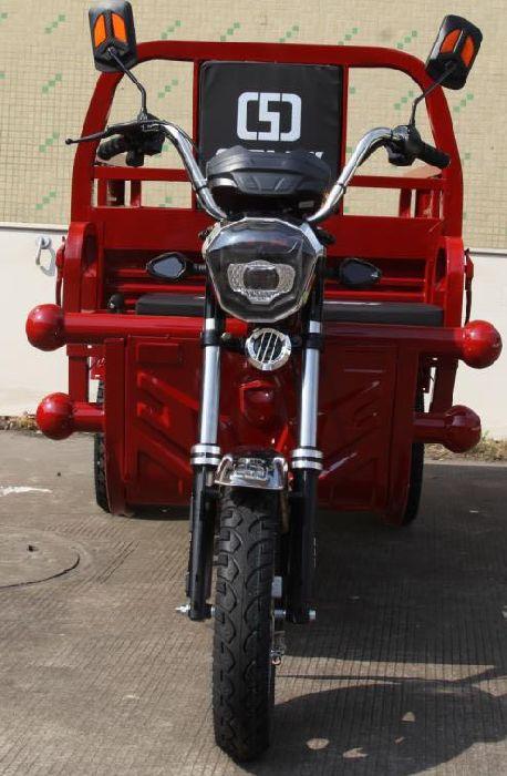 Трицикл грузовой купить в Украине Elwinn ETC3 с откидными бортами.