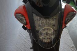 Купить мотоцикл электро со съемной батареей в Украине. Електро мотоцикли вигляд спереду