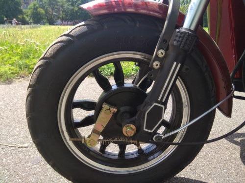 Электро трицикл с кабиной Elwinn ES-121 передние тормоза