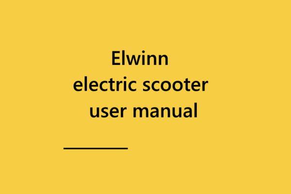 Read more about the article Інструкція по експлуатації електроскутера Elwinn.