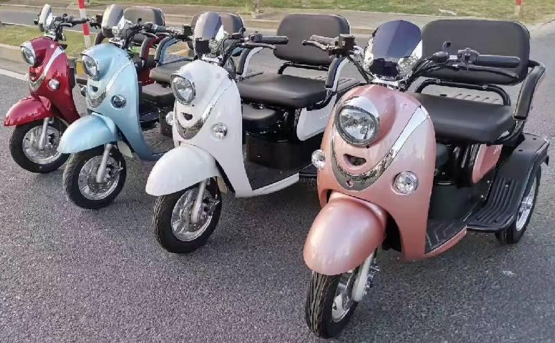 электрический трехколесный скутер Украина