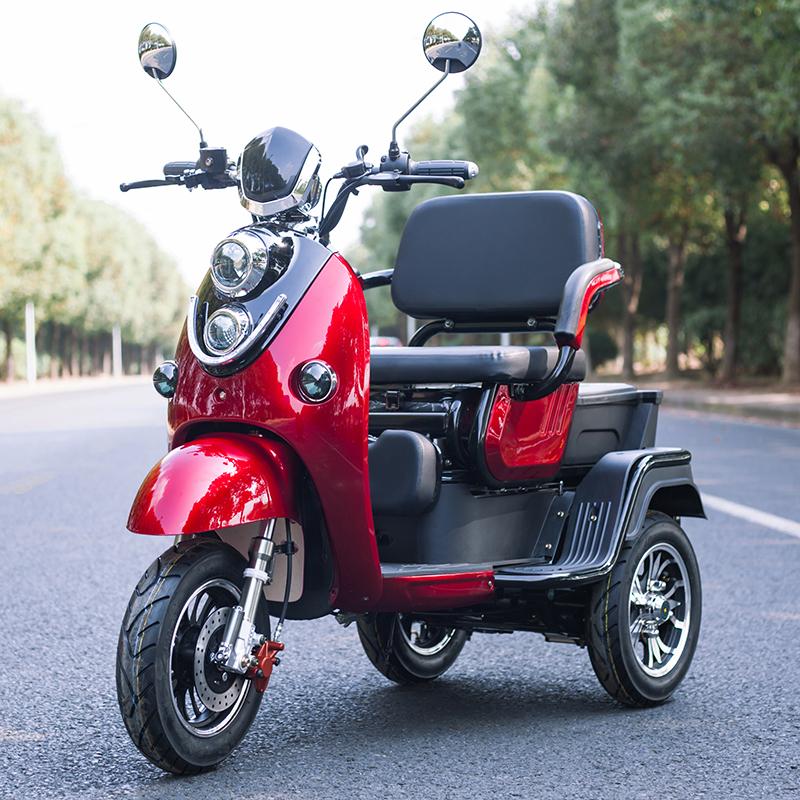 электрический трехколесный скутер Retro T