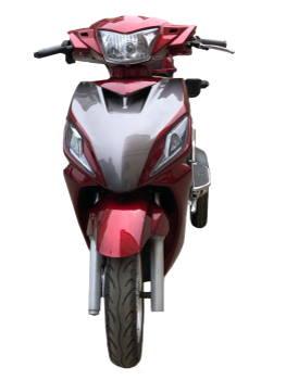 Трицикл электрический двухместный купить Украина красного цвета