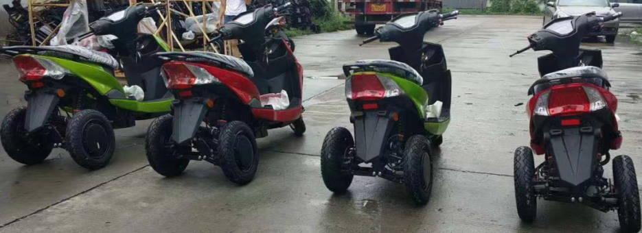 Купить электро трайк с двумя мотор колесами мощностью 1000 Ватт