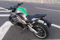 Электрический мотоцикл Z1000SX с крашпедами