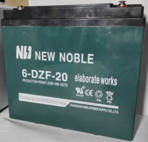 Гелевый тяговый аккумулятор для электро трицикла купить в Украине 6-DZF-20