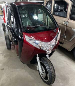 Електротрицикл з кабіною Elwinn X1