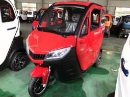 Трехколесный электромобиль купить красного цвета