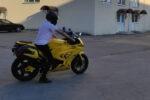 Догляд та обкатка мотоцикла на електротязі.