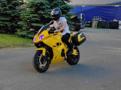 Обкатка электро мотоцикла Elwinn EM-BM